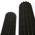 Marina Towers, Chicago, skyline, skyscraper, architecture, building, photo, free photo, stock photos, royalty-free image