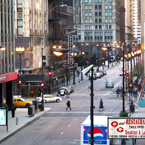 chicago downtown, chicago businesses, downtown street, street view, windows, skyscraper, architecture photo, building, free stock photos, free images, royalty-free image