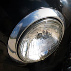 front light, antique car, car, automobile, landscape, scenery, photo, free photo, stock photos, royalty-free image