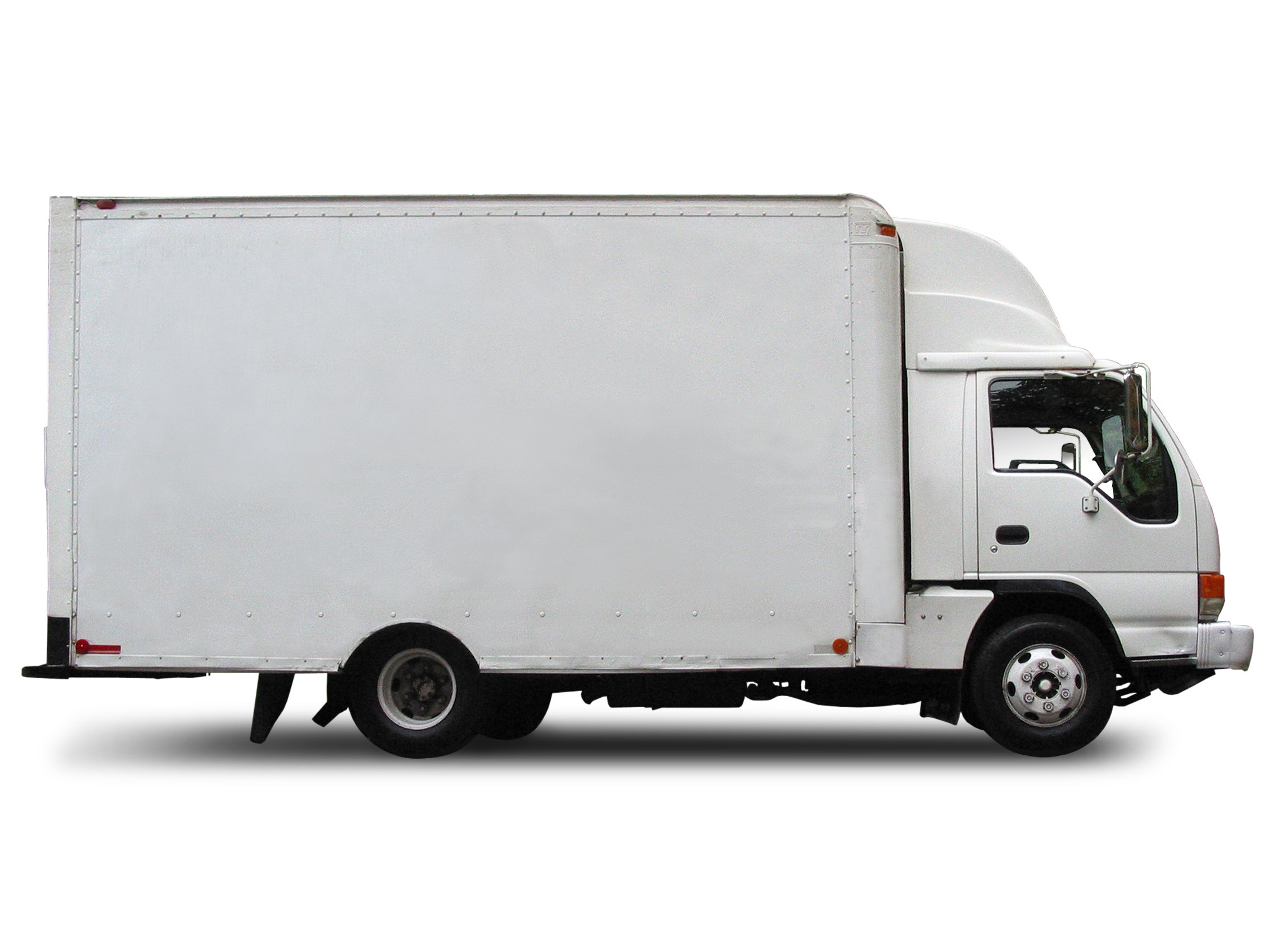 Delivery Truck FREE Stock Image Picture Box Truck Royalty