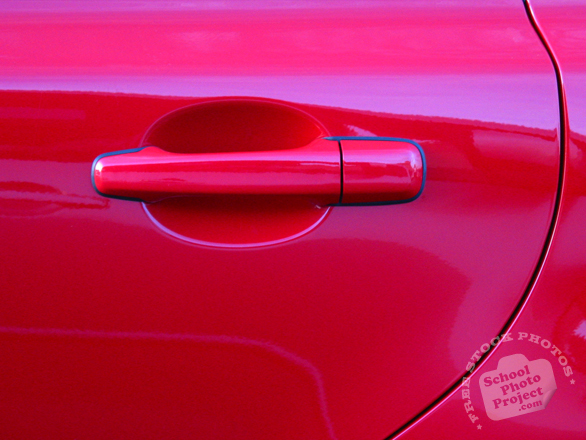 car's door, car's handle, red car handle, car, automobile, free foto, free photo, picture, image, free images download, stock photography, stock images, royalty-free image