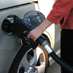 filling gas, gas pump, gas station picture, free stock photo, royalty-free image