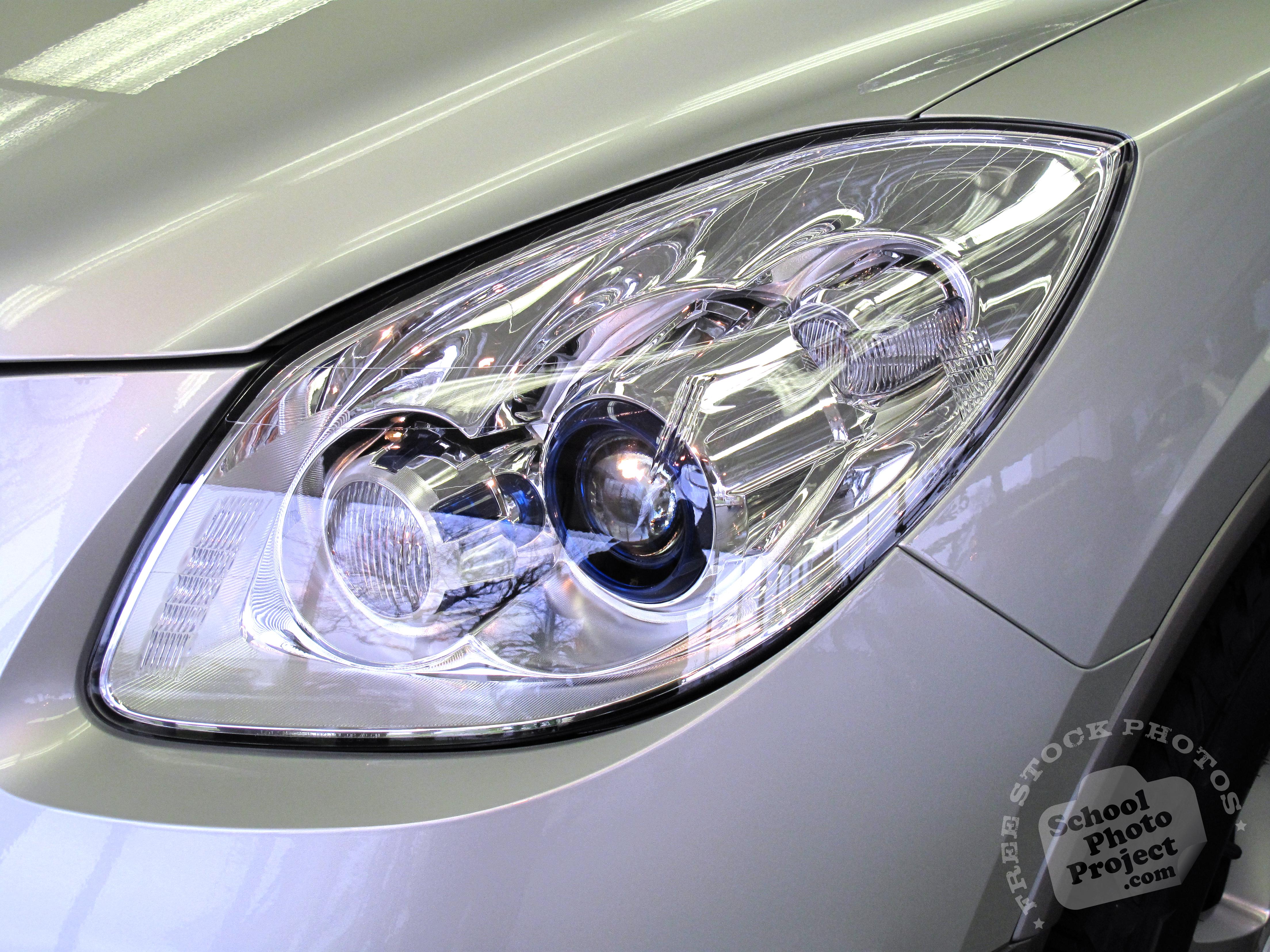 car headlight free stock photo image picture car front light