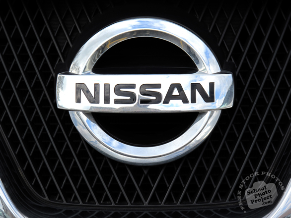 Nissan logo, Nissan brand, car logo, auto, automobile, transportation, free foto, free photo, stock photos, picture, image, free images download, stock photography, stock images, royalty-free image