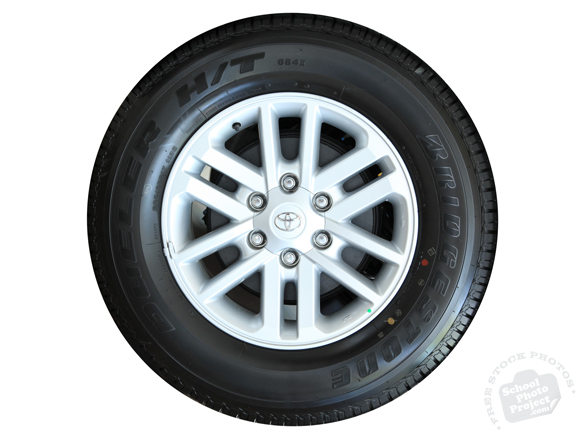 car tire, new tyre, Toyota car tire, Bridgestone tire, wheel, car, auto, automobile, free foto, free photo, picture, image, free images download, stock photography, stock images, royalty-free image