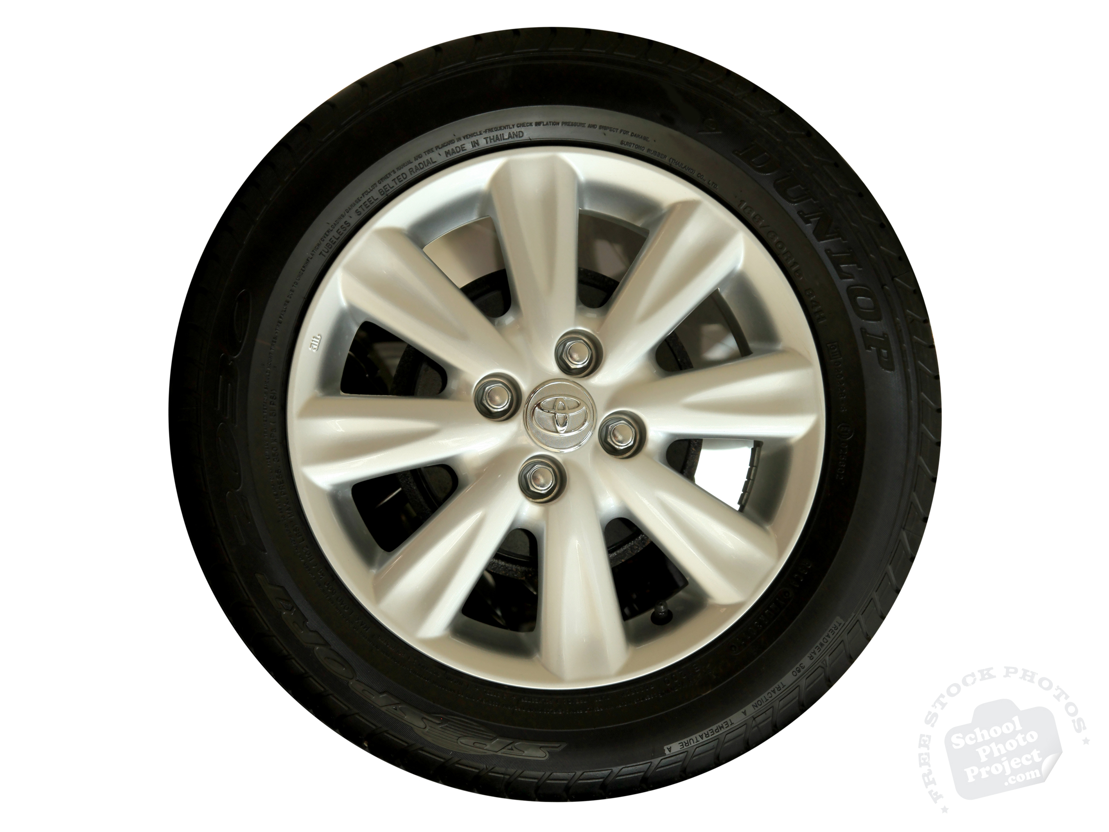 Car Tire Free Stock Photo Image Picture Dunlop Car Tyre Royalty