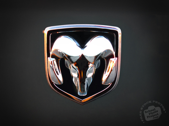 Dodge, Dodge logo, Dodge Ram photo, car logo, auto, automobile, transportation photos, free foto, free photo, picture, image, free images download, stock photography, stock images, royalty-free image