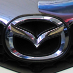 Mazda, logo, Mazda's logo, car, automobile, photo, free photo, stock photos, royalty-free image