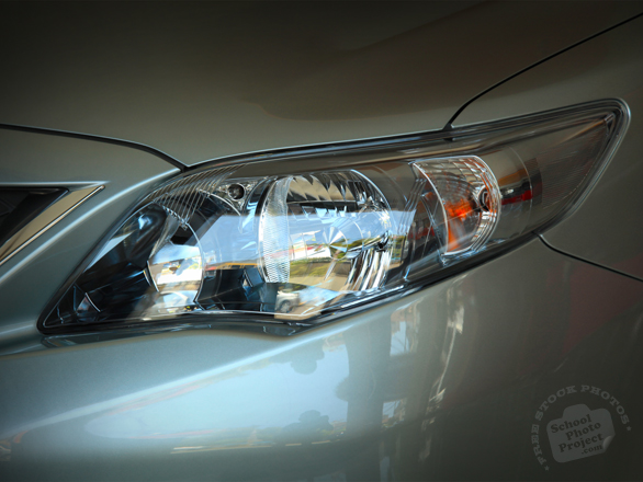 headlight, front light, Toyota Altis, Toyota Corolla, Toyota Limo, sedan, free foto, free photo, stock photos, picture, image, free images download, stock photography, stock images, royalty-free image
