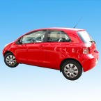 Yaris, Toyota, Toyota Yaris, Toyota car, mini sedan, car, automobile, photo, free photo, stock photos, royalty-free image