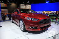 Ford Fusion 2013, Ford car, Chicago Auto Show, stock photos, free images, royalty free pictures