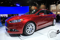 Ford Fusion, Ford car, Chicago Auto Show, stock photos, free images, royalty free pictures