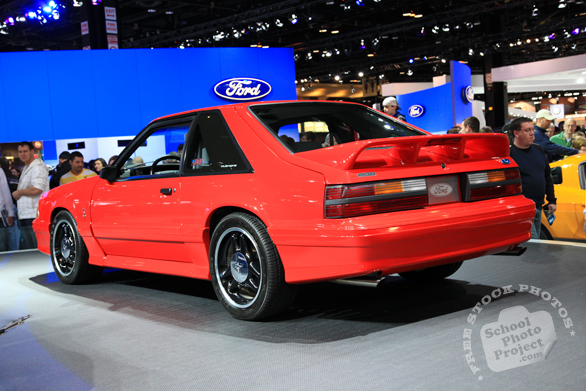 Ford Mustang Cobra, Ford car, Chicago Auto Show, stock photos, free images, royalty free pictures