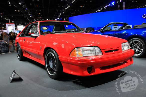 Ford Mustang SVT Cobra, Ford car, Chicago Auto Show, stock photos, free images, royalty free pictures