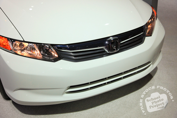 Honda sedan, Honda car, bumper, Chicago Auto Show, stock photos, free images, royalty free pictures