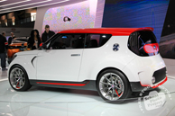 KIA Trackster, Chicago Auto Show, stock photos, free images, royalty free pictures