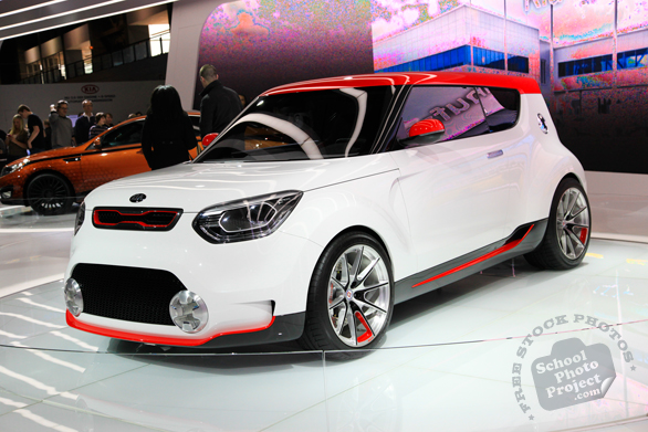 KIA Trackster, concept car, Chicago Auto Show, stock photos, free images, royalty free pictures