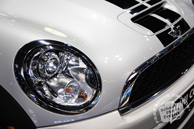 Mini Cooper, headlight, Chicago Auto Show, stock photos, free images, royalty free pictures