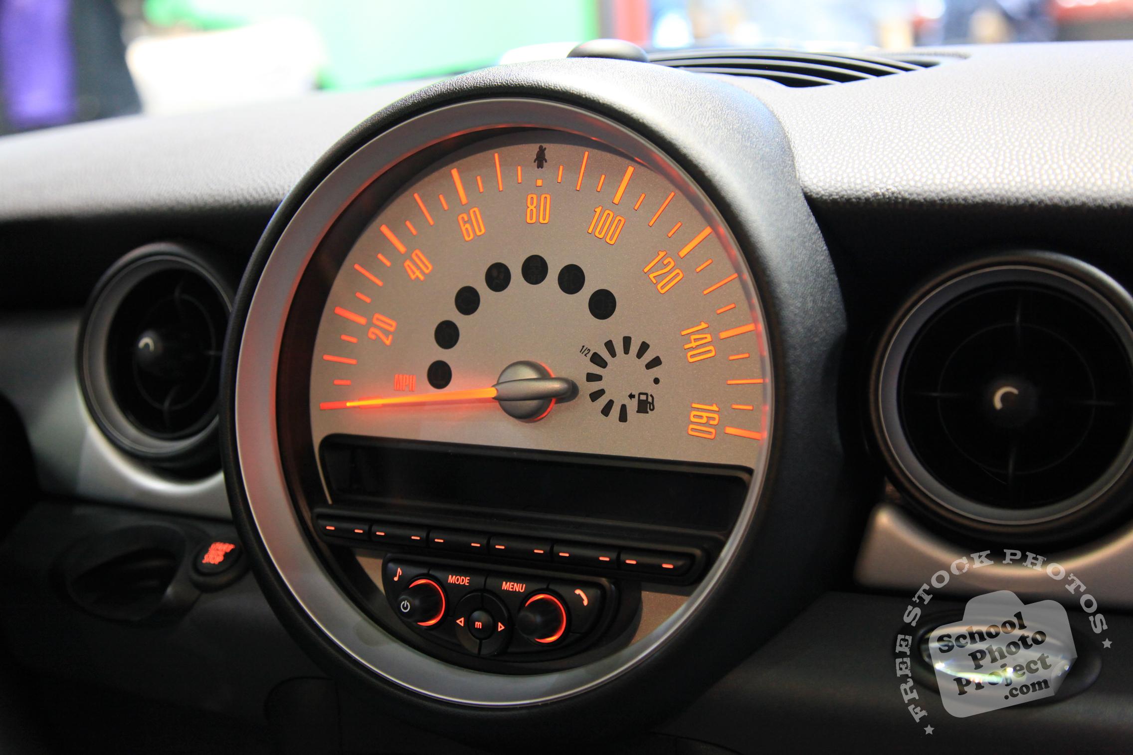 Mini, Chicago Auto Show Photo Album: Mini Cooper Speedometer ...