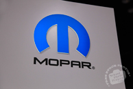 Mopar exhibit sign, Motor Parts, Chicago Auto Show, stock photos, free images, royalty free pictures