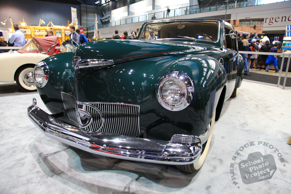 vintage classic car, antique car, Chicago Auto Show, stock photos, free images, royalty free pictures