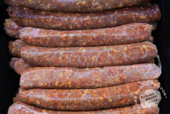 chorizo, Mexican sausages, pork meat sausages, free stock photo, picture, free images download, stock photography, royalty-free image