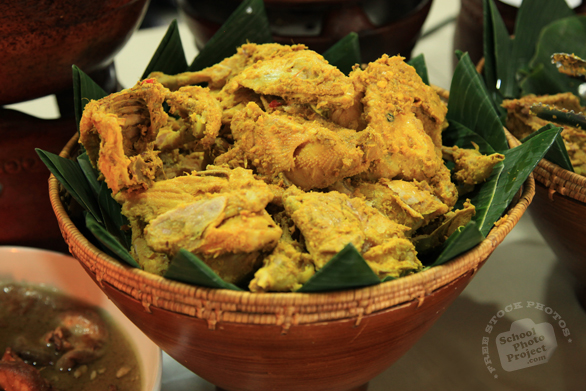 fried chicken, ayam goreng kuning, sundanese food, Indonesian local food, food photos, free photo, stock photo, picture, stock images, royalty-free image