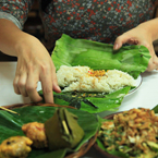 preparing food, sundanese food, Indonesian traditional food, food photo, free photo, free stock photo, free picture, royalty-free image