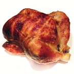 roast chicken, whole chicken, cooked chicken, food photo, free photo, free stock photo, free picture, royalty-free image