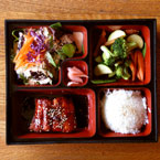 fresh, salmon, rice , box, Japanese Food, table, free photo, stock photos, royalty-free image