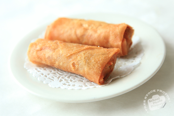 spring roll, fried springrolls, dessert, yum cha, dim sum, dimsum photo, Chinese food, traditional food, free photo, free images, stock photos, stock images, royalty-free image