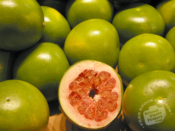 grapefruit, cut grapefruit photo, pomelo, shaddock, fruit photo, free photo, free images, stock photos, stock images, royalty-free image