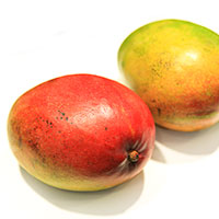 mango, red mangoes picture, free photo, royalty-free image