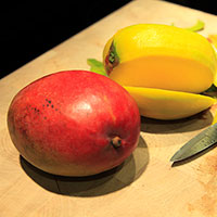 mango, cutting mango picture, free photo, royalty-free image