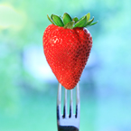 strawberry, strawberry photos, fruit photo, utensil fork, free stock photo, free picture, free image download, stock photography, stock images, royalty-free image