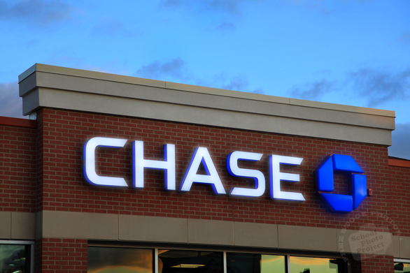 Chase, logo, brand, identity, banking, money, free stock photo, free picture, stock photography, royalty-free image