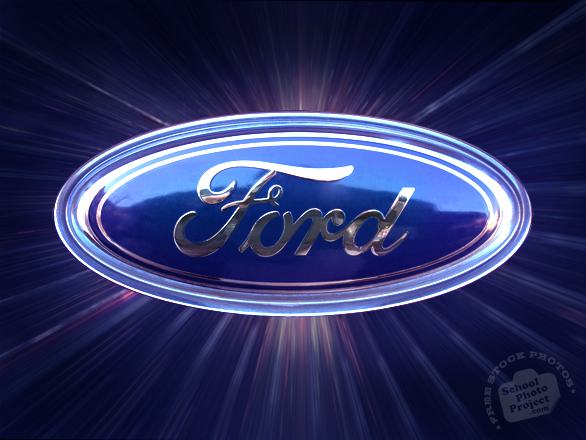 Ford, Ford car, logo, brand, mark, car, automobile identity, free stock photo, free picture, stock photography, royalty-free image