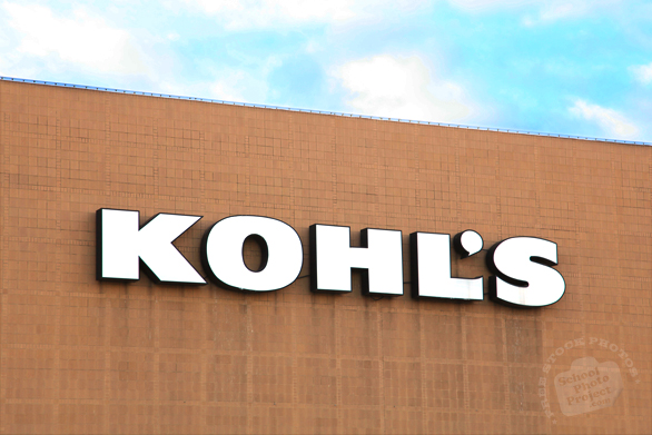 Kohl's Department Store, logo, brand, identity, clothing, fashion, free stock photo, free picture, stock photography, royalty-free image