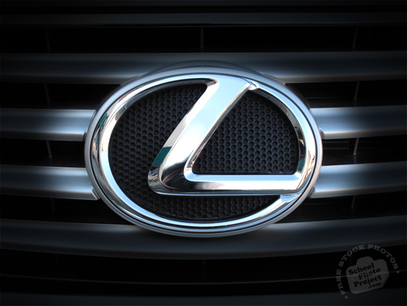 Lexus, logo, brand, mark, car, automobile identity, free stock photo, free picture, stock photography, royalty-free image