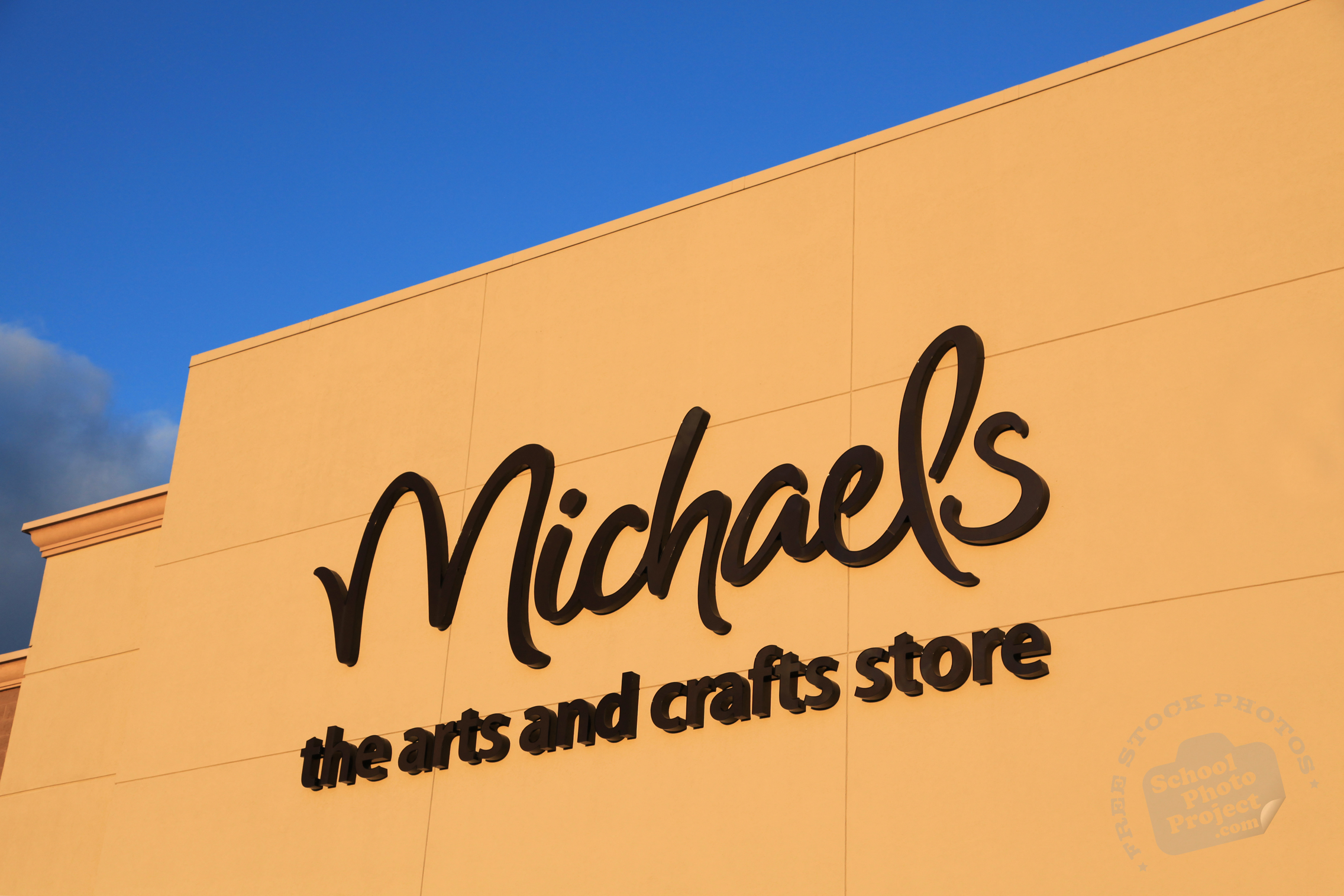 Michaels Arts And Crafts Store Free Logo Mark Stock Photo