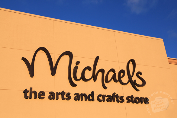 Michaels, arts and crafts store, free logo mark, free stock photo, free picture, royalty-free image