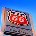 Phillips 66, logo, brand, gasoline, gas station, free stock photo, free picture, stock photography, royalty-free image