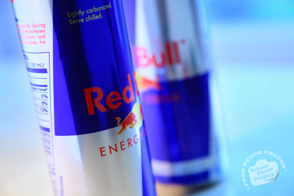 Red Bull logo, Red Bull can, Red Bull Energy Drink, corporate identity images, free logo mark, free stock photo, free image, stock photography, royalty-free image