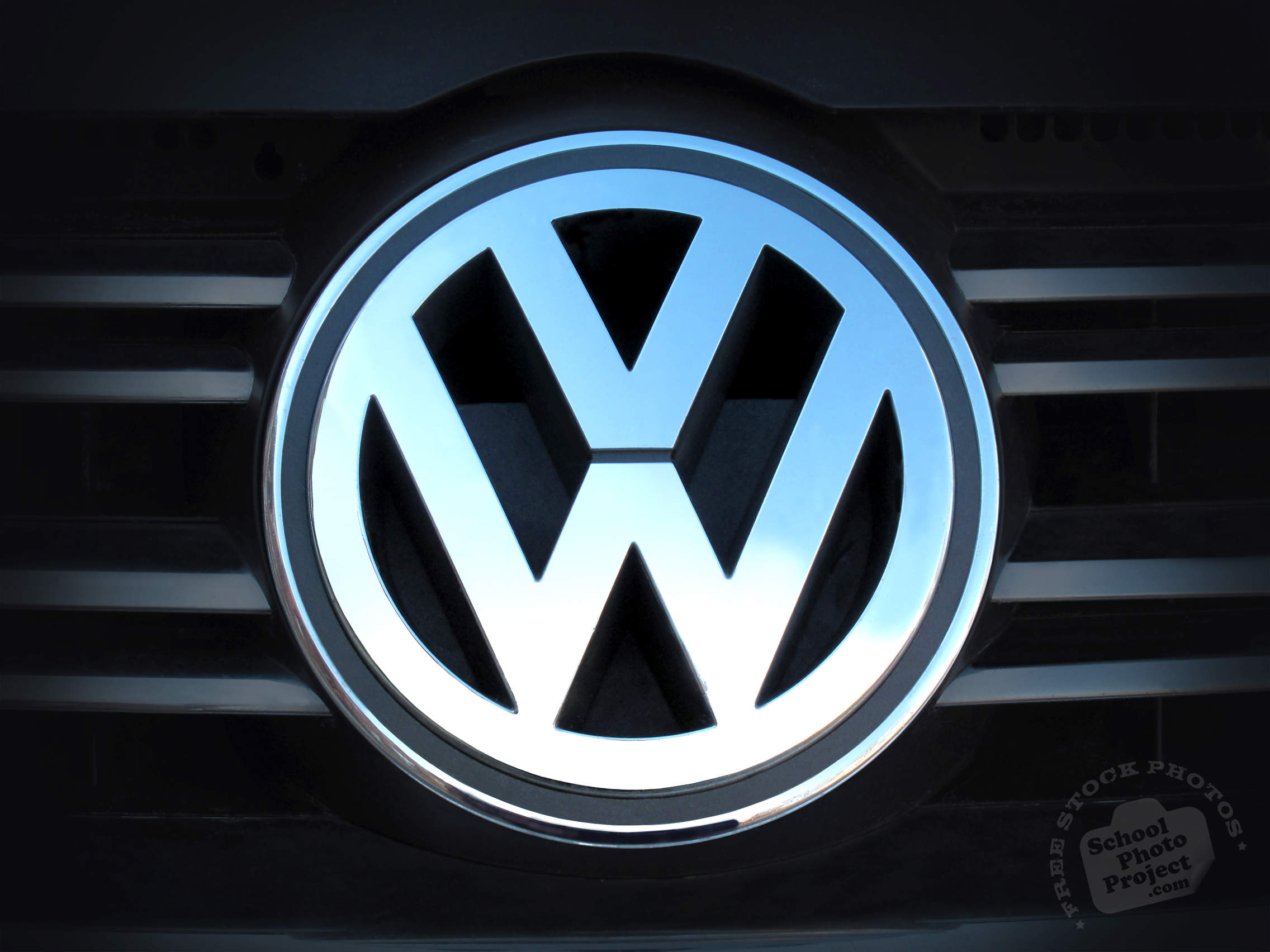 volkswagen logo volkswagen identity famous car identity royalty  logo stock photo