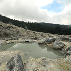 hot spring, crater, stone, water, nature photo, free stock photo, free picture, stock photography, royalty-free image