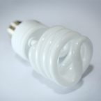CFL light bulb, compact light bulb picture, free stock photo, royalty-free image