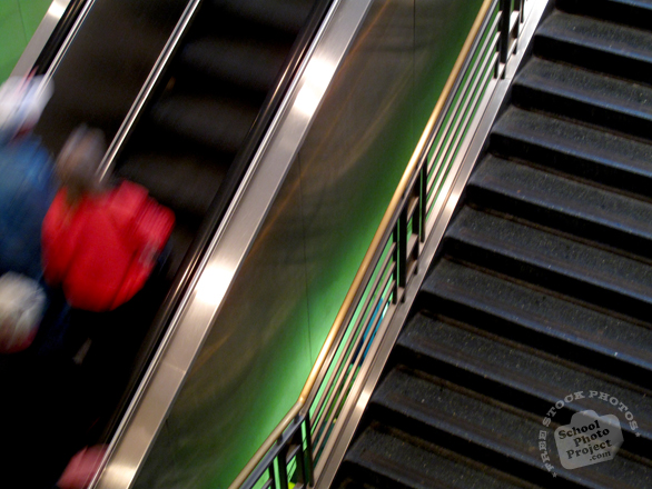 escalator, riding escalator, stairs, lift, building equipment, daily objects, stock photos, free foto, free photos, free images download, stock photography, stock images, royalty-free image