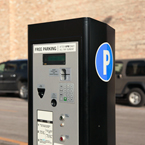 parking pay box, pay station, pay-to-park, multispace meter, new parking meter, daily objects, free stock photo, picture, free images download, stock photography, royalty-free image