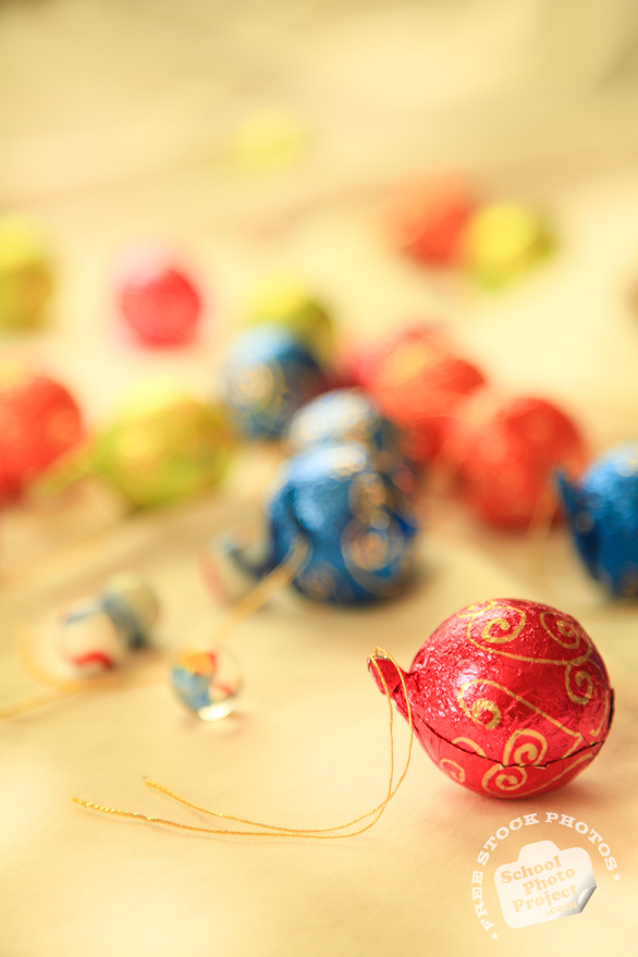 chocolate, Christmas assortment, Christmas decoration, Xmas celebration, bauble, religious holiday, seasonal picture, holidays celebration, free stock photo, free picture, stock photography, royalty-free image