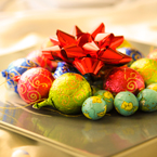 chocolate, plate, ribbon, Christmas assortment, Christmas decoration, Xmas celebration, bauble, religious holiday, seasonal picture, holidays celebration, free stock photo, free picture, stock photography, royalty-free image
